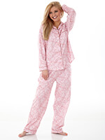 Sleepwear & Slippers - Enchantment Micro Flannel Pajama Set