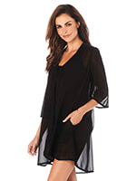 Accessories - Penbrooke Shear Black Coverup