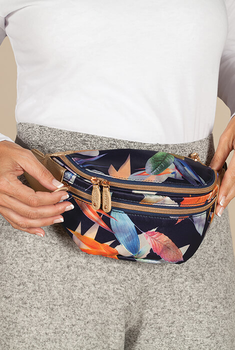 Buxton® Tropical Luxe Waist Bag - View 1