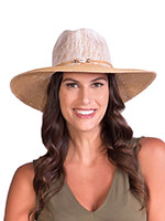 Hats, Scarves & Gloves - Physician Endorsed Sandy Beaches Toyo Fedora Sunhat