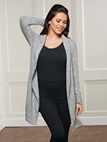 All New Loungewear - La Cera Cozy Knit Cardigan