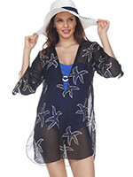 Accessories - Black Starfish Cover-Up