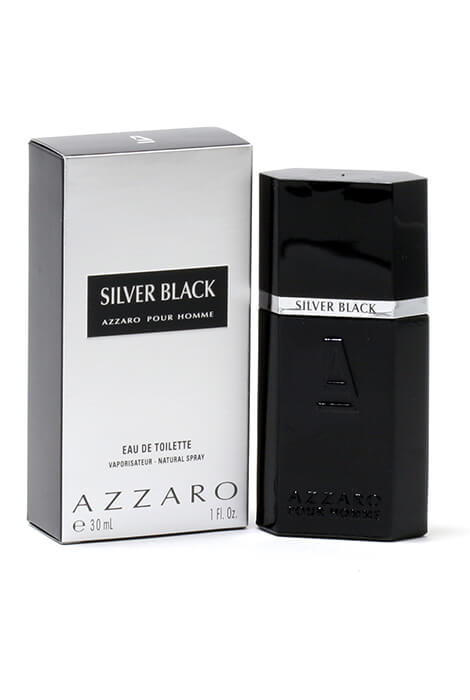 Azzaro Silver Black for Men EDT, 1 oz.