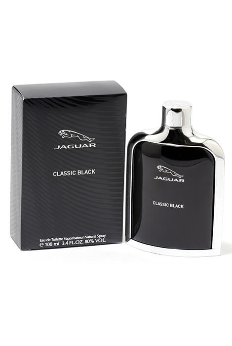 Jaguar Classic Black for Men EDT, 3.4 oz.