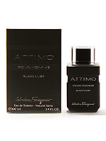 20% Off Designer Fragrances - Salvatore Ferragamo Attimo Black Musk for Men EDT, 3.4 oz.