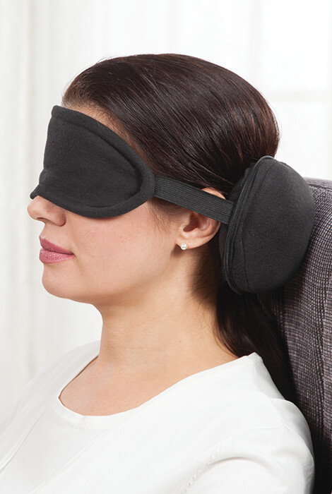 2-in-1 Travel Pillow and Eye Mask